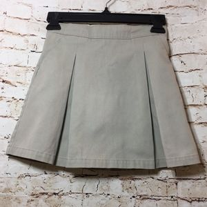 George Girl's Warm Beige School Uniform Skorts